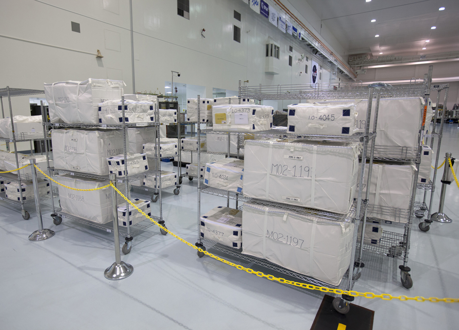 Loading Cygnus With Supplies