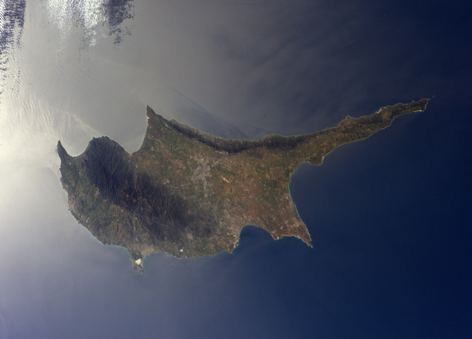 Cyprus Seen From Orbit