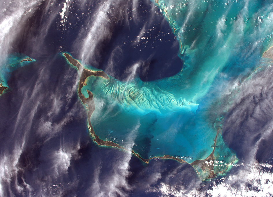 The Bahamas Seen From Orbit