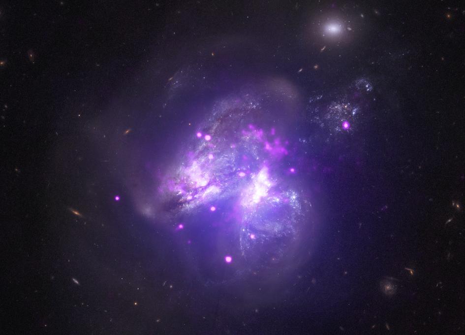 Chandra Samples Galactic Goulash