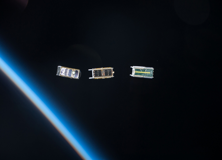Cubesats Sail Away From The International Space Station