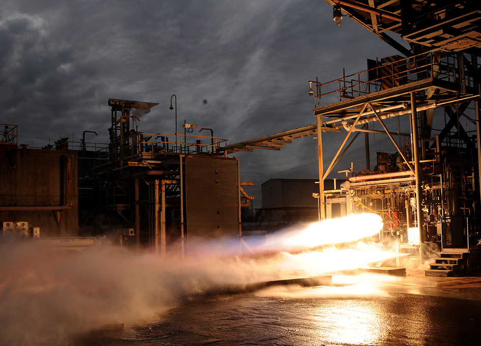 Aerojet Rocketdyne Increases Thrust Level of 3-D Printed Bantam Rocket Engine by 500 Percent