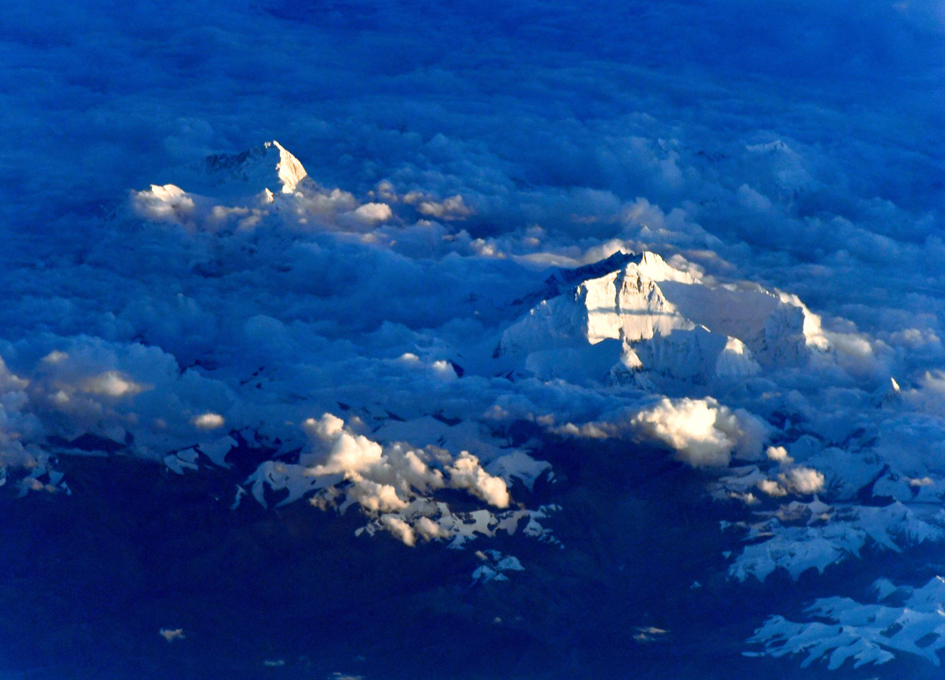 Twilight View Of Mt. Everest From Orbit
