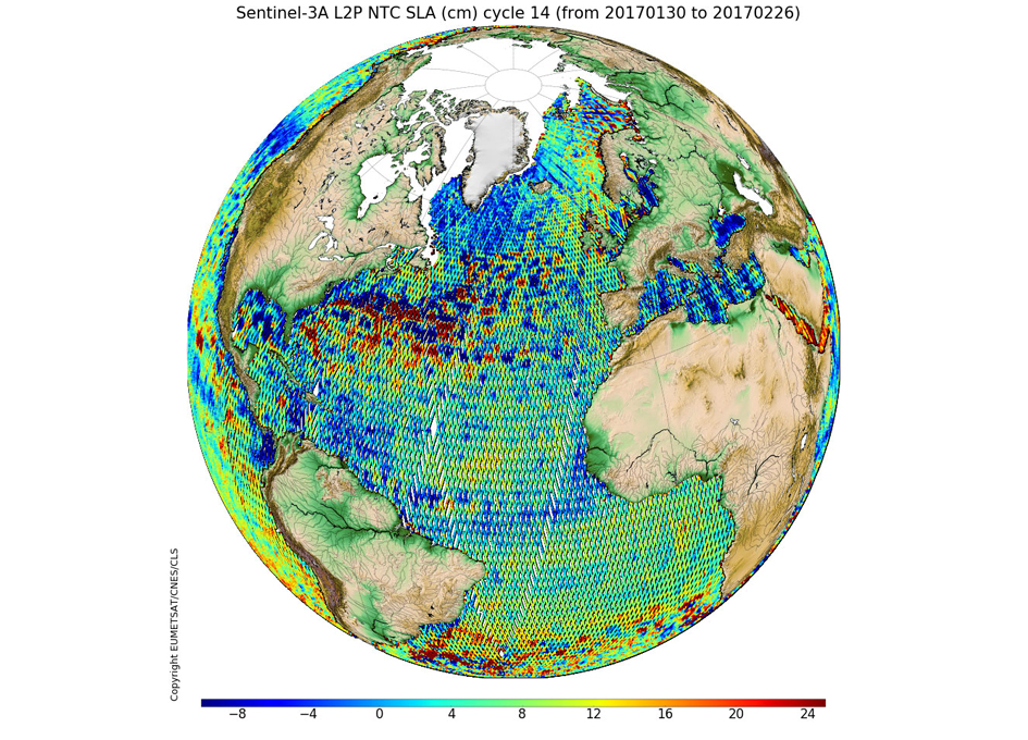 New Sentinel-3A Corrected Sea Surface Height Products