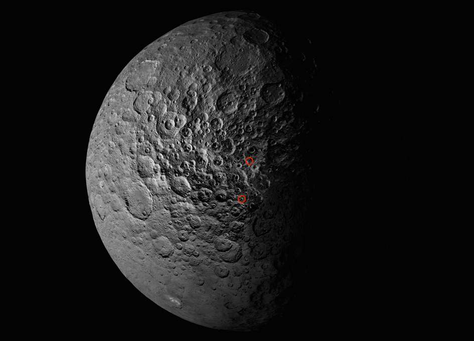 Ice in Ceres' Shadowed Craters Linked to Tilt History
