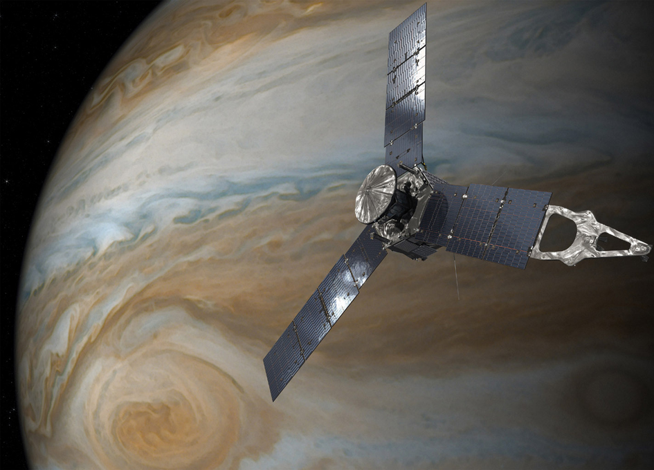 Jupiter Red Spot Storm Pictures: NASA's Juno Spacecraft Sends Back Photos