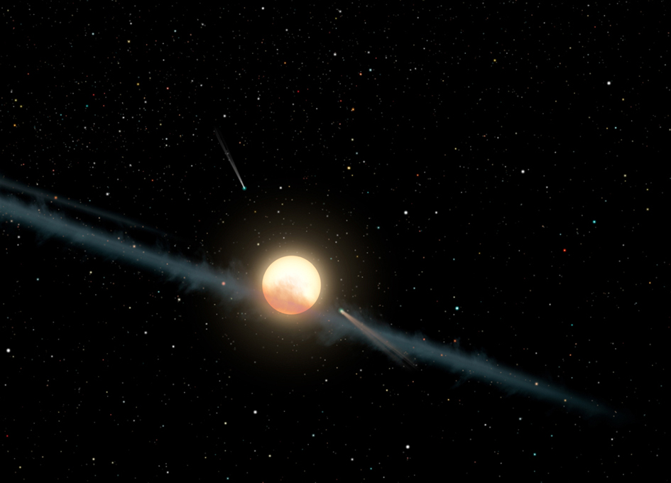Dimming star not caused by aliens, but still a mystery