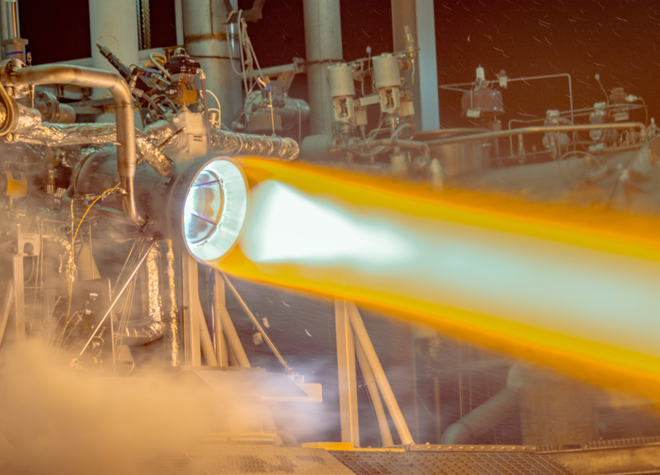 Aerojet Rocketdyne Tests Full-Scale RL10 3-D Printed Copper Thrust Chamber Assembly