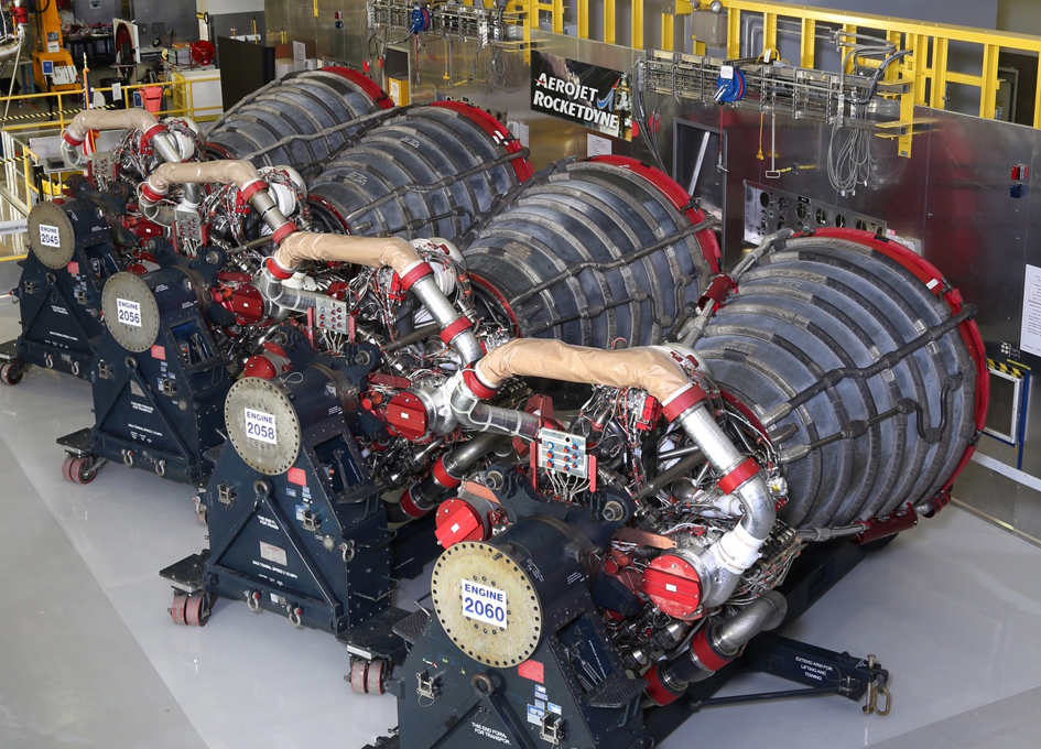 RS-25 Engines Ready for SLS Maiden Flight