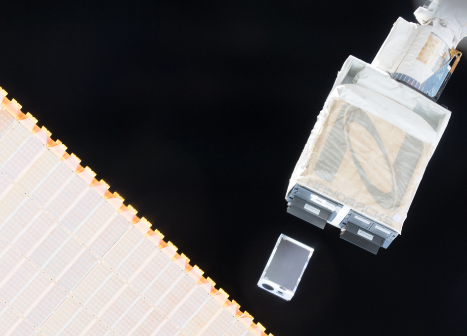 Astronomy CubeSat Deployed From ISS