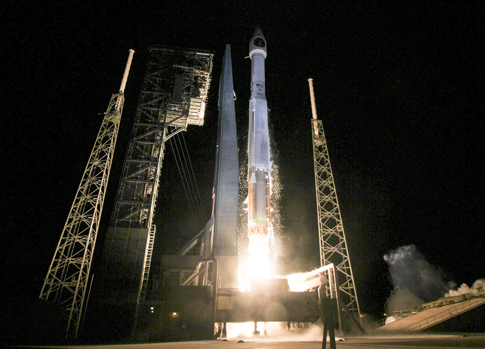 ULA Launches SBIRS GEO Flight 3 Satellite to Orbit for USAF