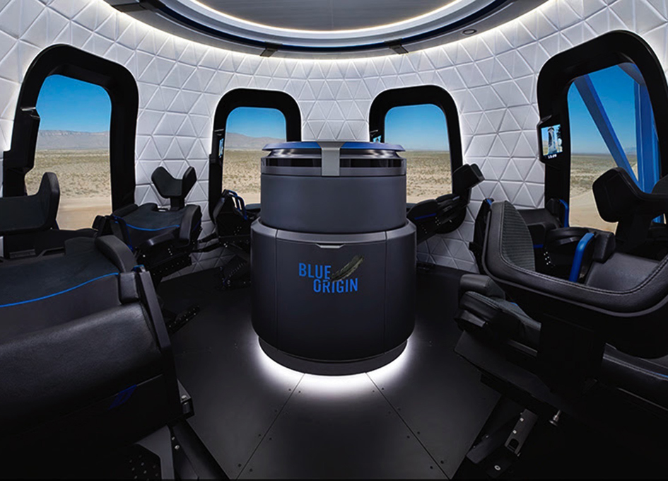 Blue Origin Releases New Pictures of Their Cool Spaceship