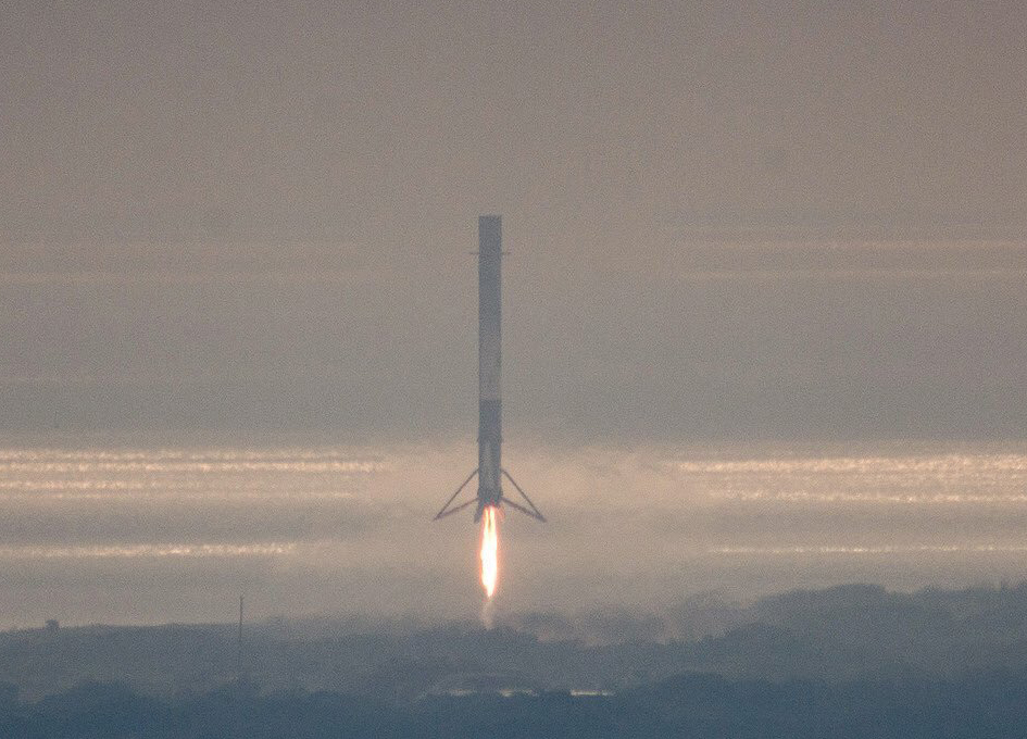 Another Perfect Launch/Landing For SpaceX