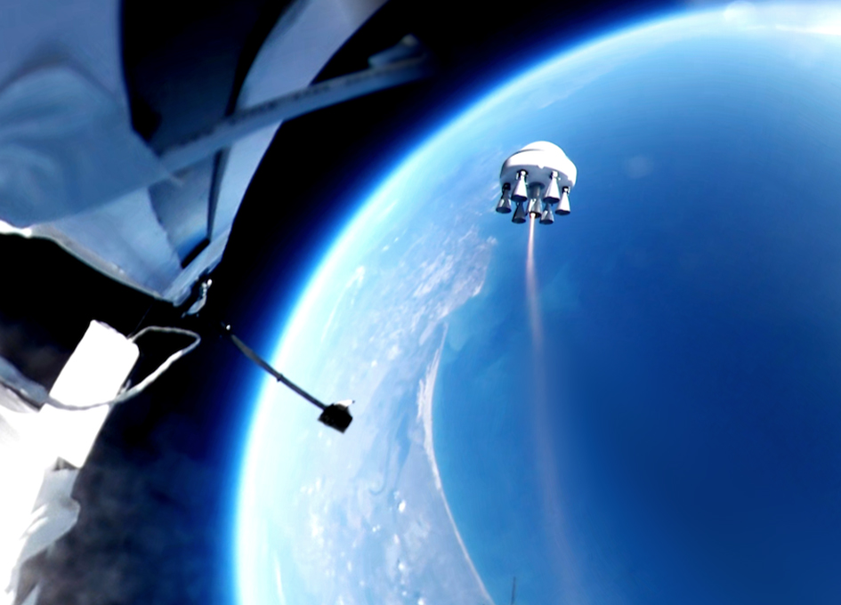 Zero 2 Infinity Launches Rocket From The Edge Of Space