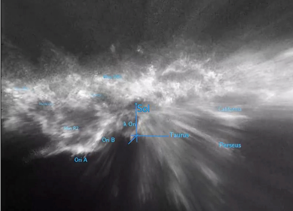 New Study Maps Space Dust in 3-D