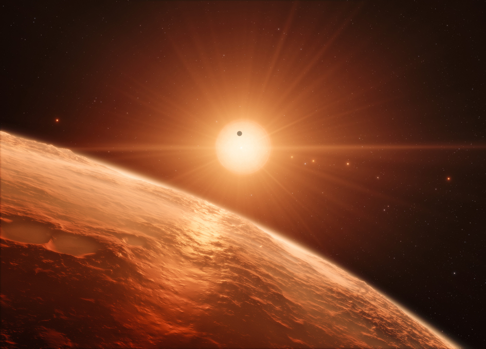Temperate Earth-Sized Planets Found in Extraordinarily Rich Planetary System TRAPPIST-1