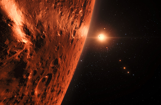 Hubble Space Telescope spies possibility of liquid water in TRAPPIST-1