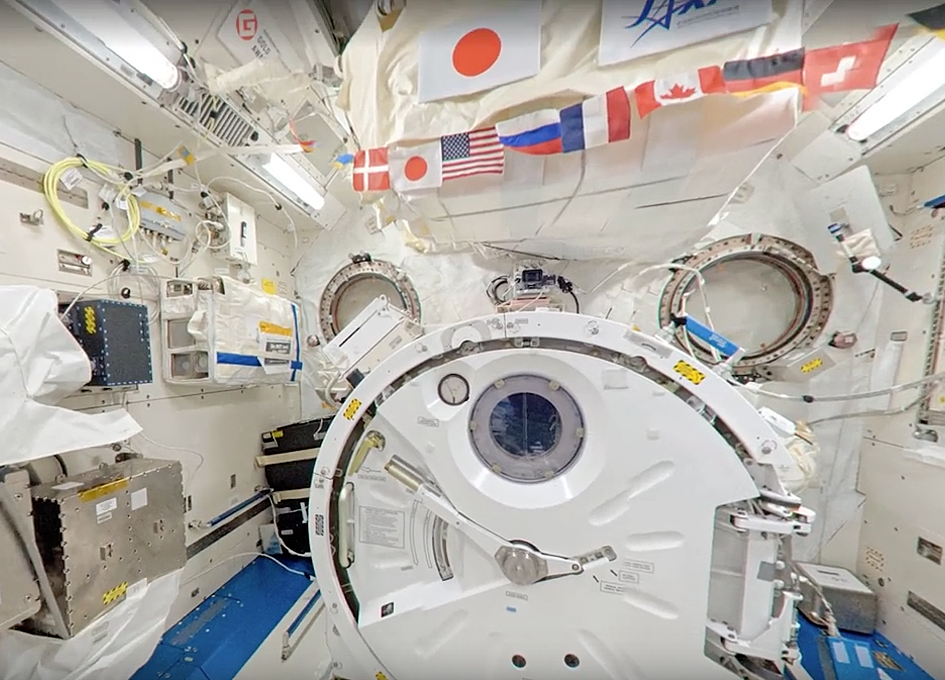 International Space Station On Google Street View