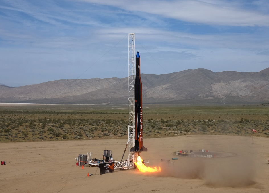 Vector Completes Successful Flight Test of Vector-R Launch Vehicle