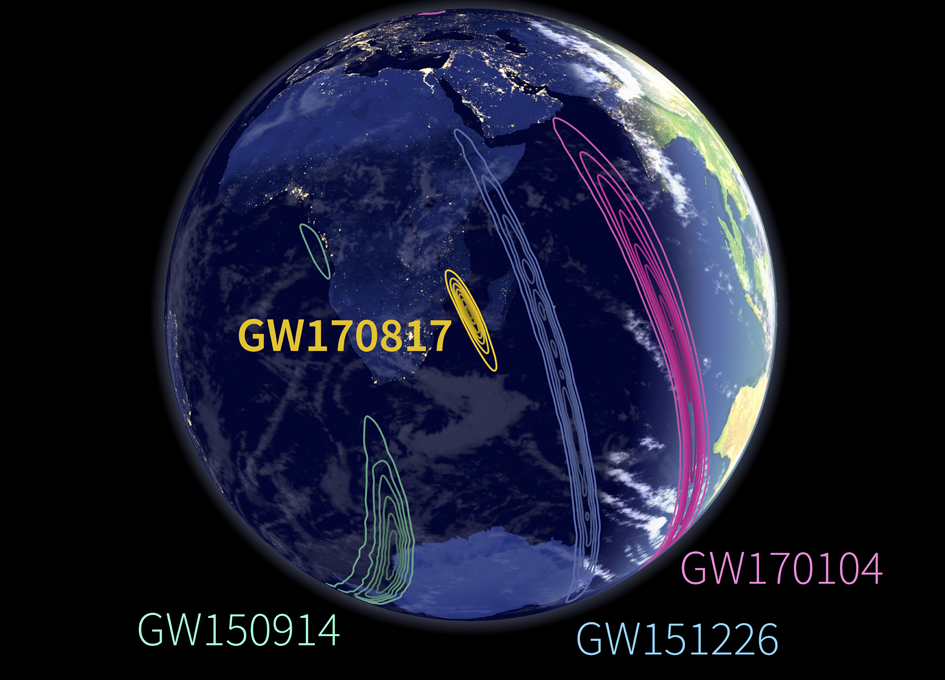 Finding GW170817 In The Sky