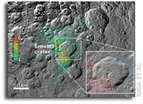The Origin of Organic Compounds on Ceres