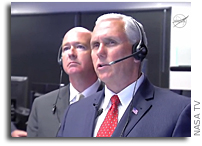 Vice President Pence Visits NASA Marshall Space Flight Center