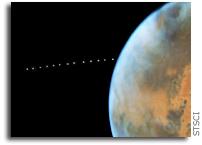 Phobos Photobombs Mars
