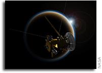 Cassini Makes Last Flyby of Titan