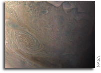 Juno Views Jupiter's Little Red Spot
