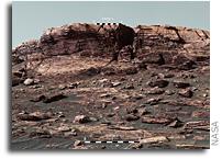 Curiosity Is Climbing Toward The Top Of Vera Rubin Ridge