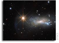 TYC 3203-450-1 - Hubble's Bright Shining Lizard Star