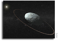 Dwarf Planet Haumea Has A Ring System