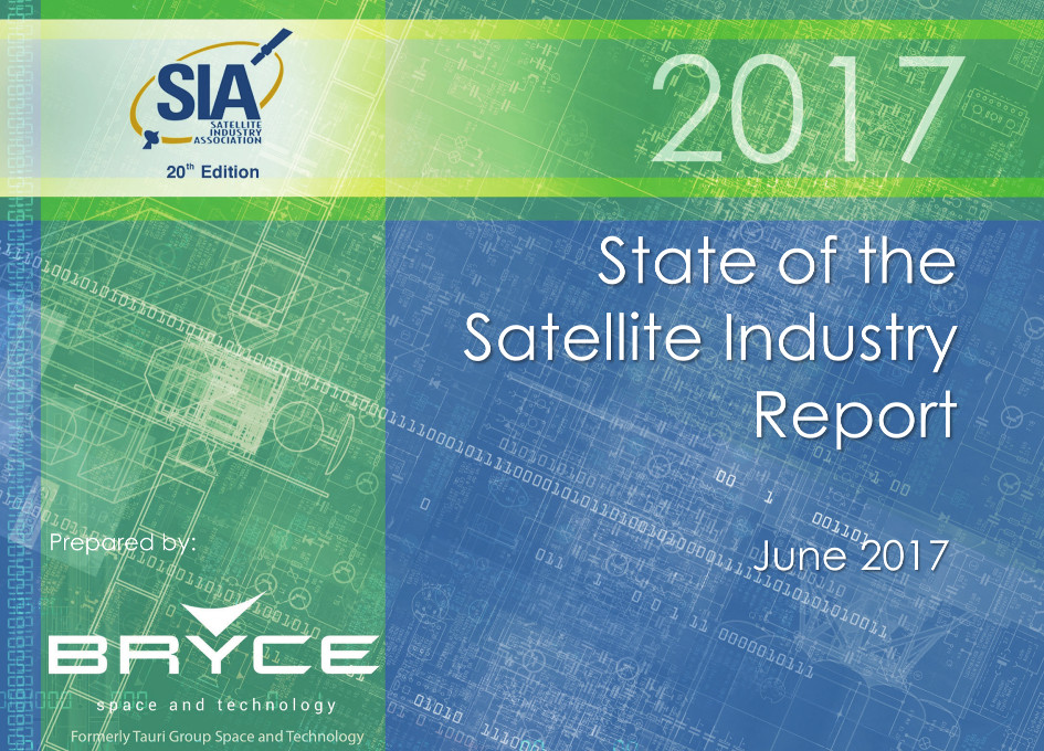 SIA 2017 State of the Satellite Industry Shows 2% Growth and Revenues of $260 Billion