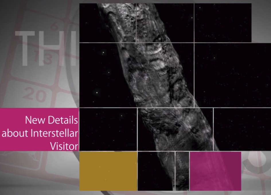 This Week at NASA: That Odd Interstellar Asteroid and More