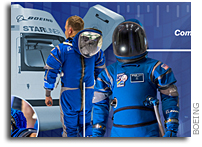New Spacesuit Unveiled for Starliner Astronauts