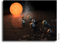 James Webb Space Telescope Will Study TRAPPIST-1 Planet Atmospheres