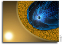How Energy Dissipates Outside Earth's Magnetic Field