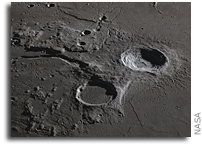 Aristarchus Plateau As Seen From Lunar Orbit