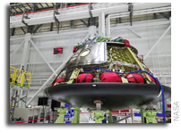 Boeing Starliner Begins Heat Shield Installation
