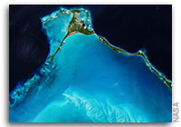 Earth from Space: Egg Island, Bahamas