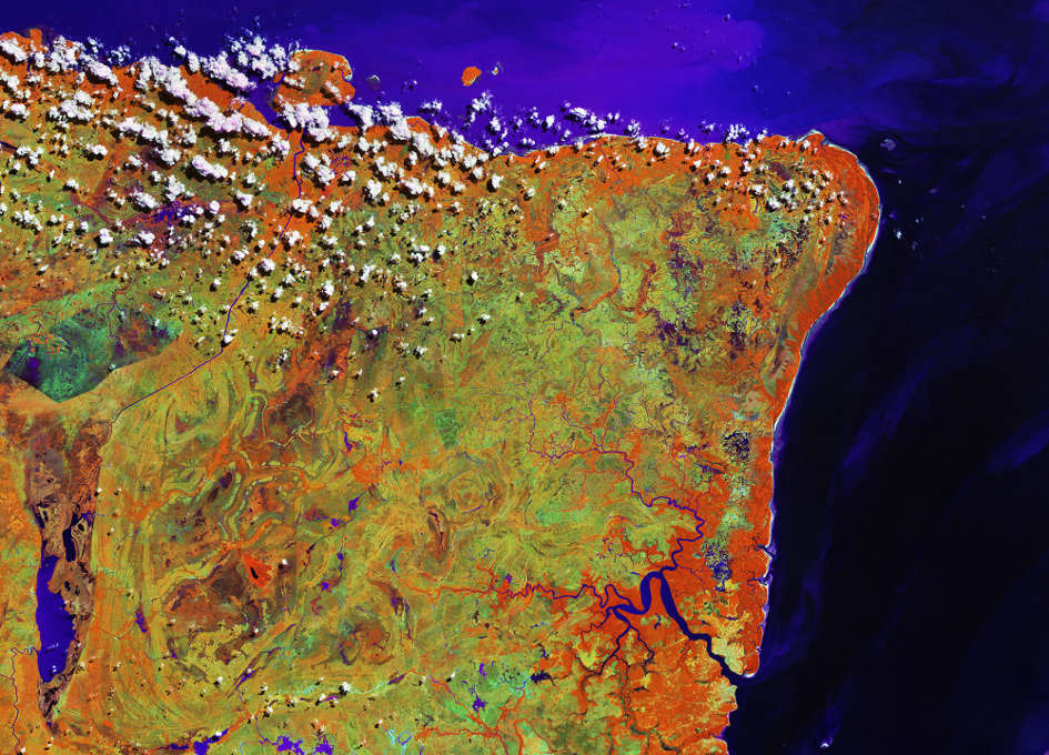 Earth from Space: Marajó, Brazil