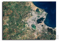 Earth from Space: Tunis Wetlands, Tunisia
