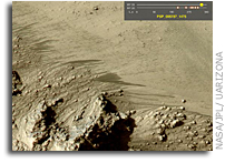 Flowing Sand, Not Water, Source of Some Recurring Dark Martian Surface Streaks
