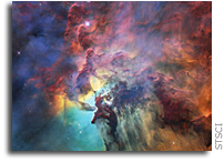 Hubble View Of The Lagoon Nebula