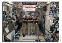 NASA Space Station On-Orbit Status 22 February 2018 - BEAM Opened Up