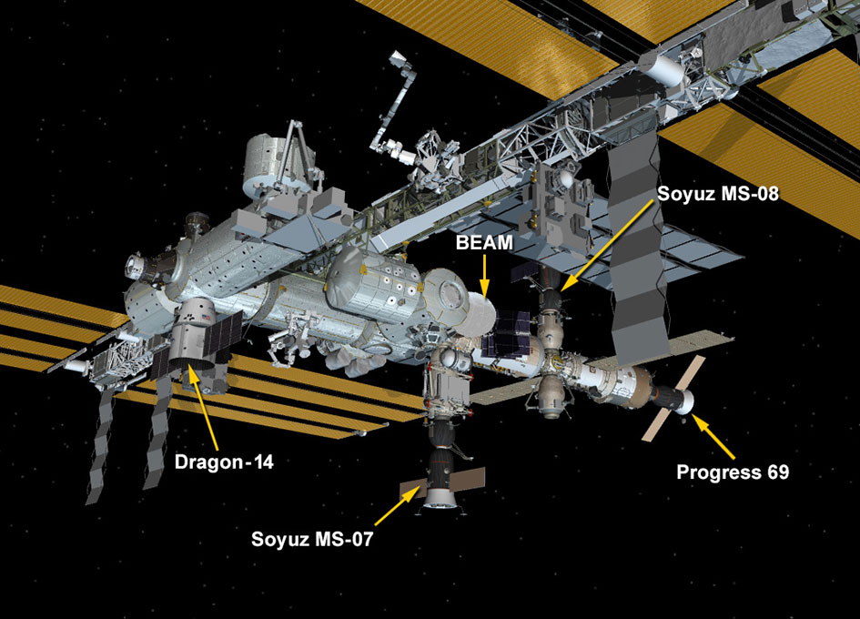 NASA Space Station On-Orbit Status 4 April 2018 - SpaceX ...