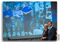 NASA Space Station On-Orbit Status 23 April 2018 - Chatting with NASA's New Administrator and the Vice President