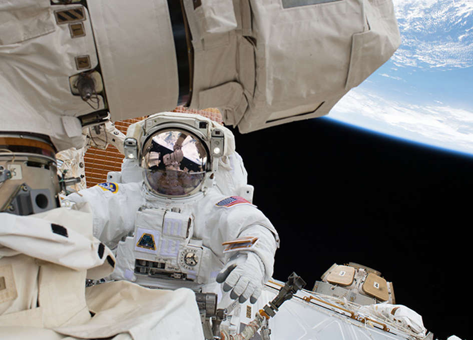 Station Crew Waits for Russian Delivery Day Before US Spacewalk