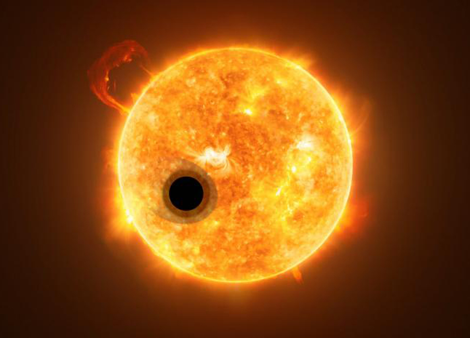 Helium Discovered in Atmosphere of an Exoplanet for the First Time