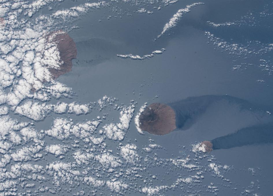 Cape Verde Seen From Orbit